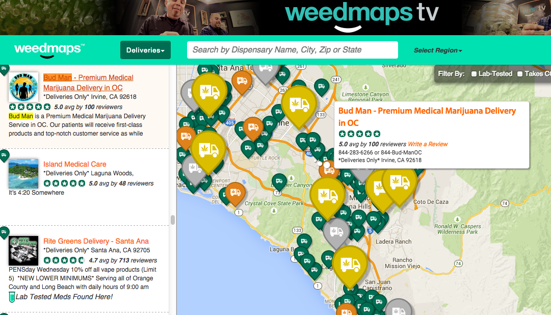 Weedmaps registrar