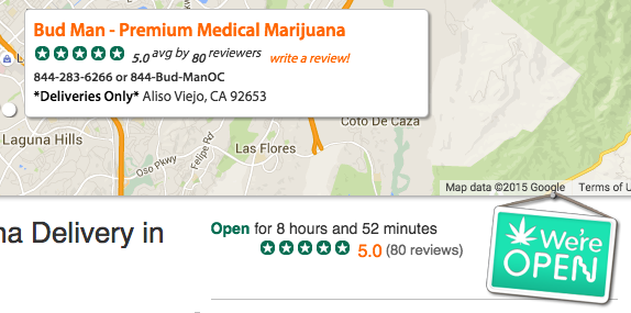 How to use weedmaps - bud man oc