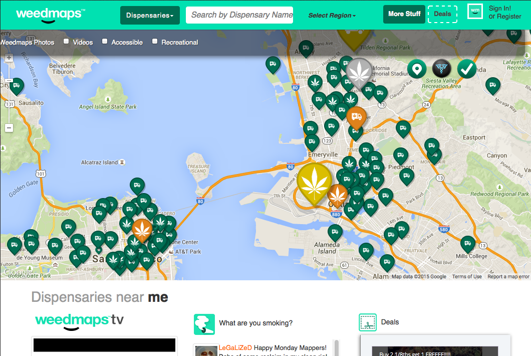 weed maps delivery