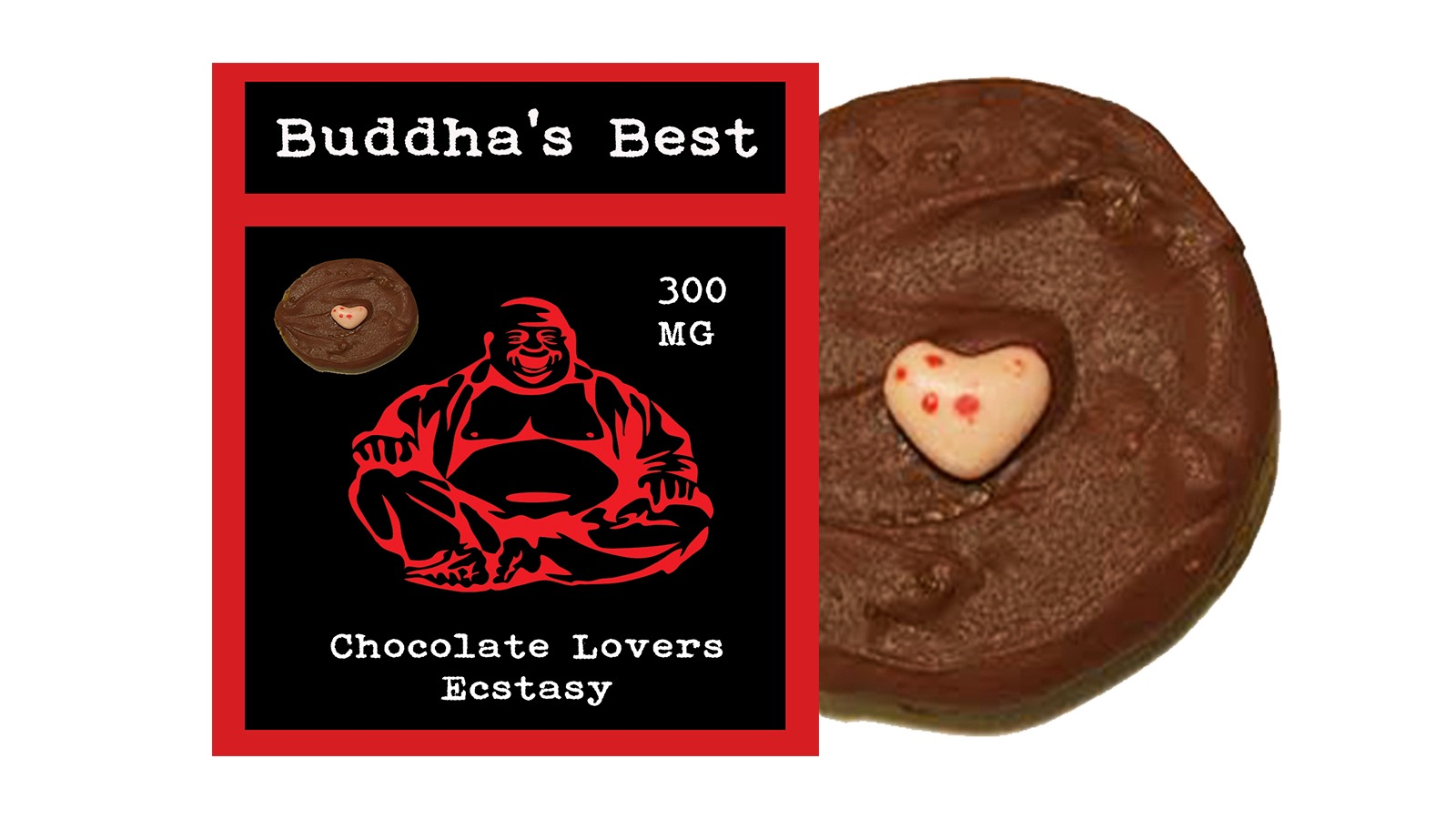 Chocolate Lover's Ecstasy – Buddha's Best Edibles (300mg THC ...