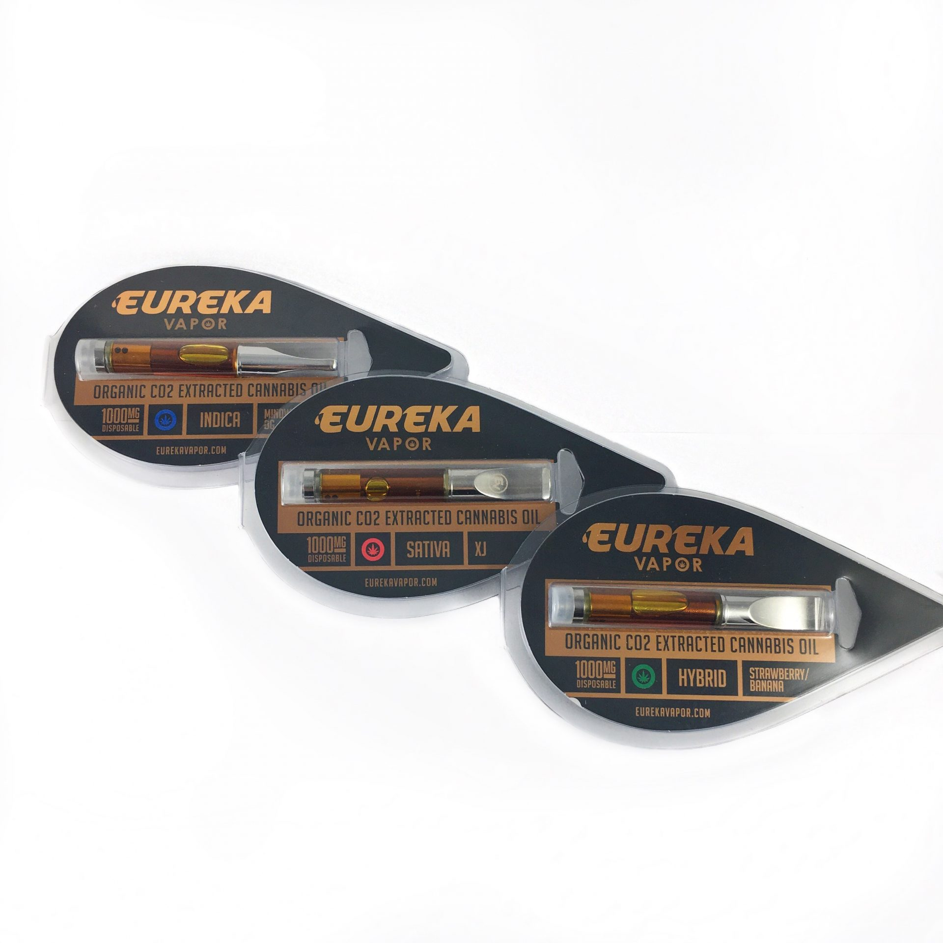 eureka vapor amber high potency cartridges 1 gram 15 strains