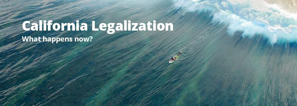 california pot legalization
