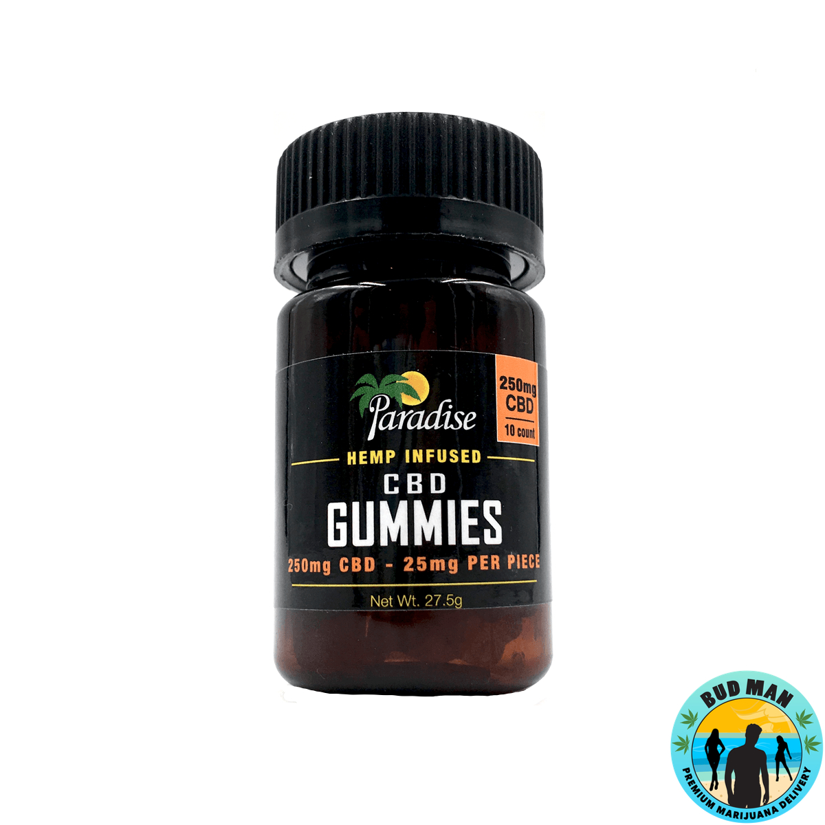 CBD Gummy Bears - Paradise Candy Company (250mg CBD)