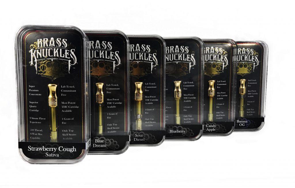 Brass Knuckles Clear High Thc Vape Cartridges 1 Gram 18