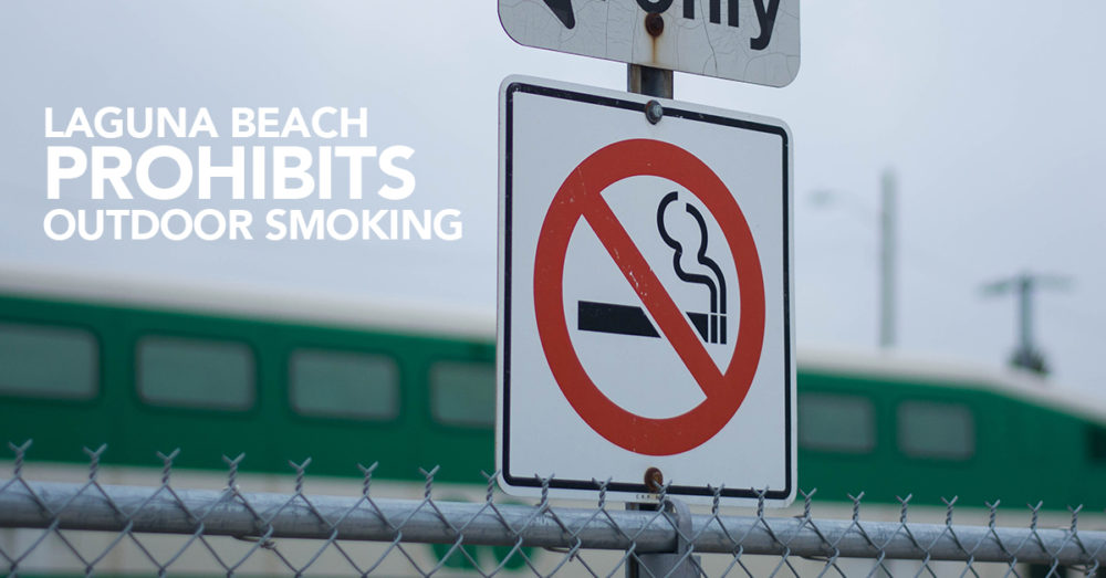 smoking ban laguna beach