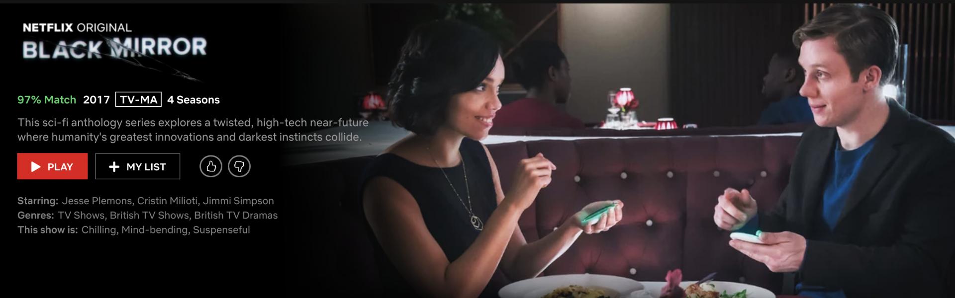Black Mirror – Getting High Watching Netflix