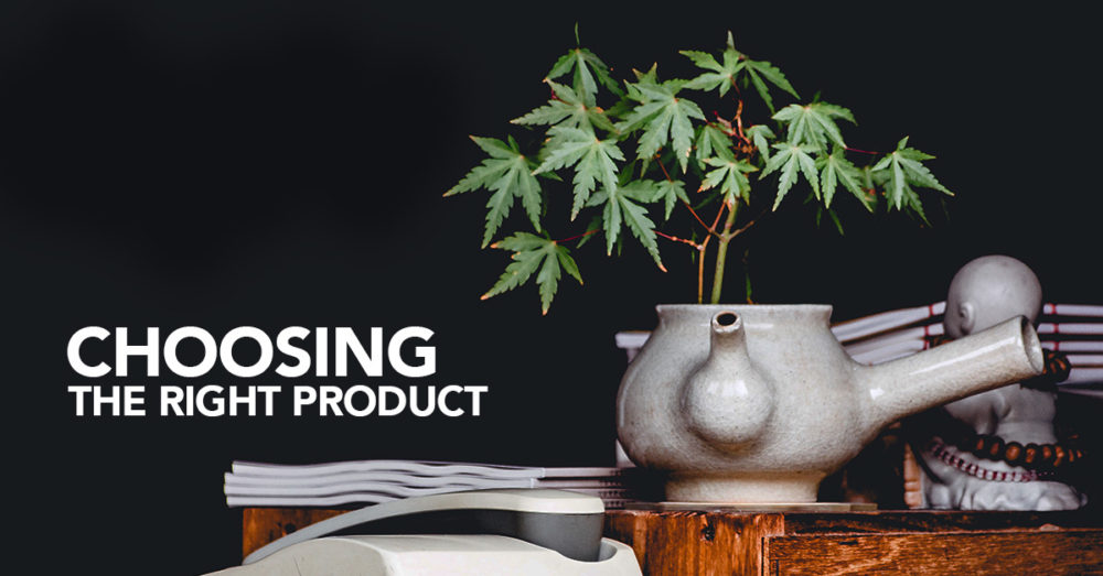 Choosing the right cannabis product