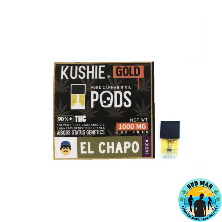 Kushie Gold Super High Potency JUUL Pods (1 gram - 9 options)
