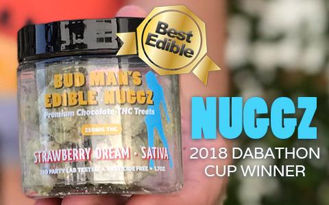 Try Bud Man's Edible Nuggz – Chocolate Edibles