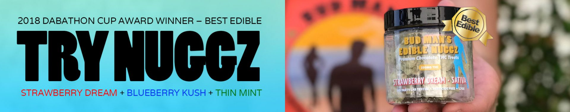 Try Bud Man's Edible Nuggz – Chocolate Edibles