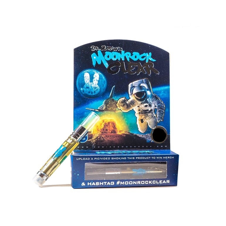 Dr. Zodiak's Moonrock Clear 90% THC Cartridge (1g