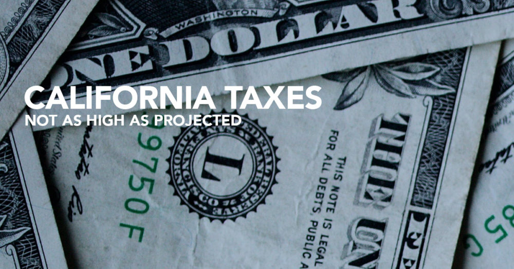 california marijuana taxes