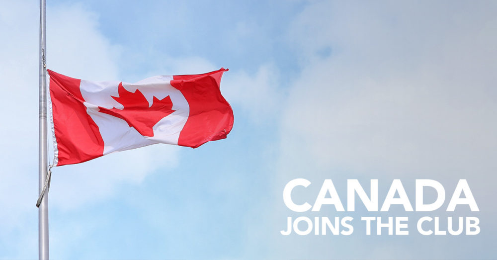 Canada Joins the 420 Club