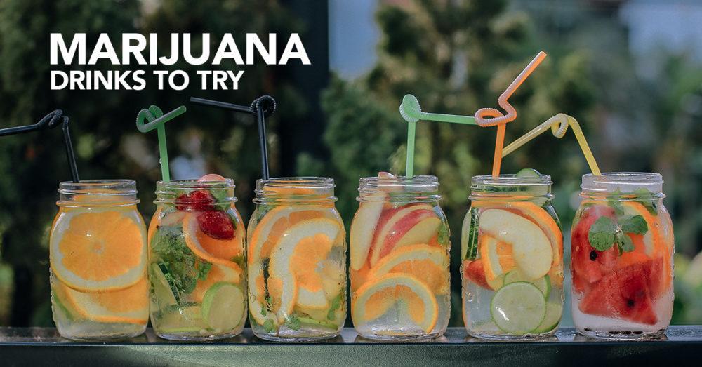 Marijuana drinks to try