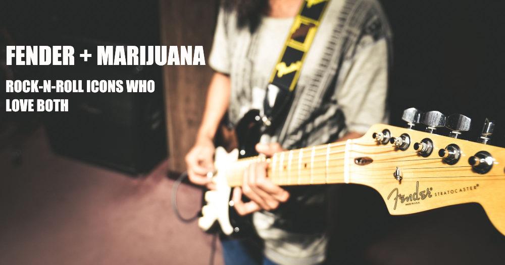 fender guitars and marijuana