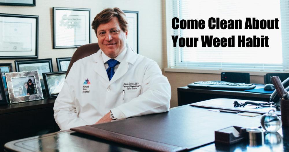 marijuana and doctor visits