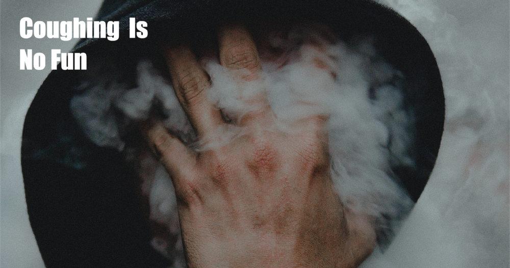 smoking coughing
